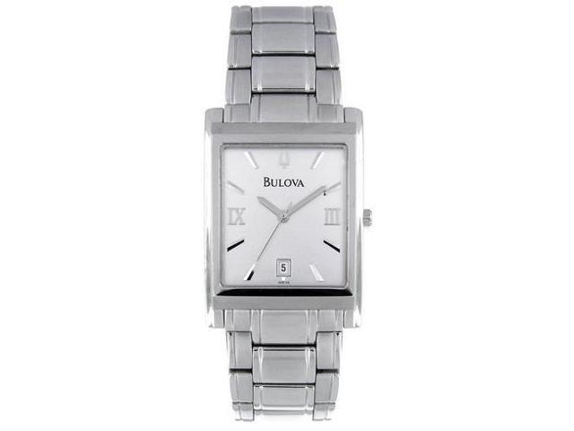 bulova stainless steel mens watch 96b108 newegg com bulova stainless steel mens watch 96b108