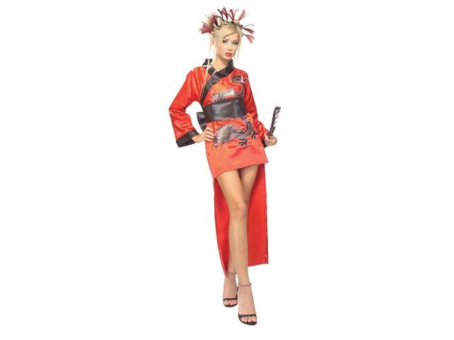 Dragon Lady Red - Adult Standard Costume