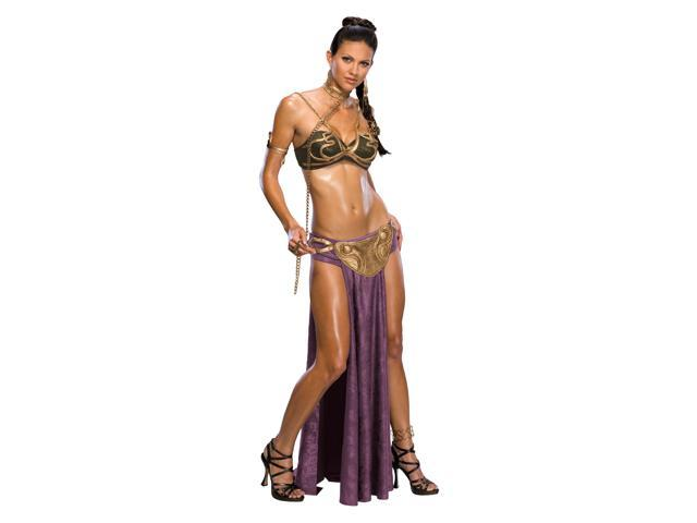 Star Wars Pricess Leia Slave Outfit Adult Small Costume