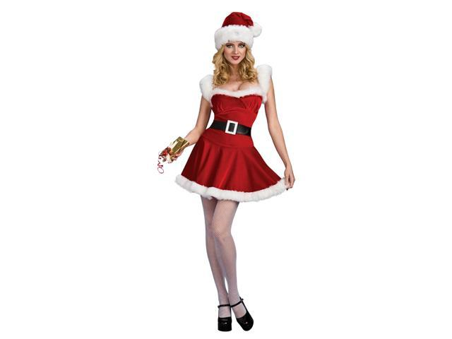 Sexy Santa Helper Christmas Jingle Adult Costume Medium