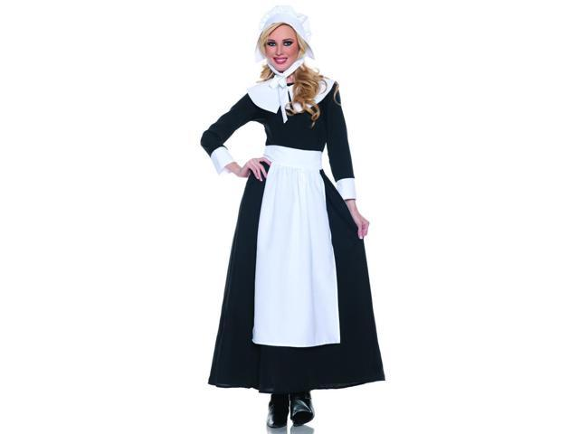 Thanksgiving Pilgrim Woman Costume Adult Medium