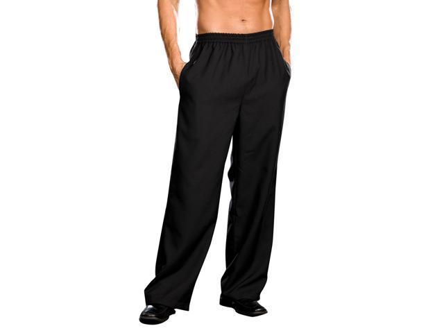Men's Basic Black Pants Costume Adult Medium