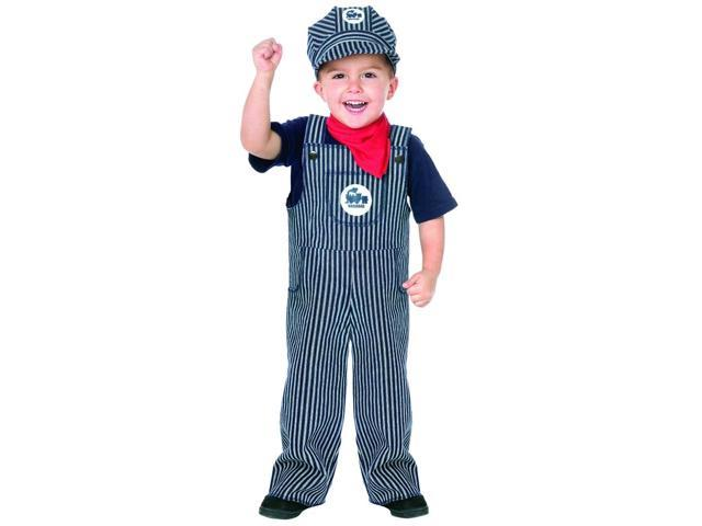 Train Engineer Toddler Costume 3T-4T