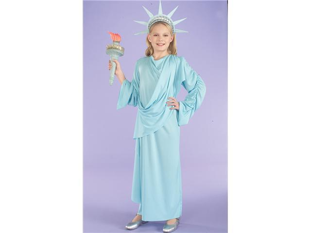 Lil' Miss Statue Of Liberty Patriotic Costume Child Medium