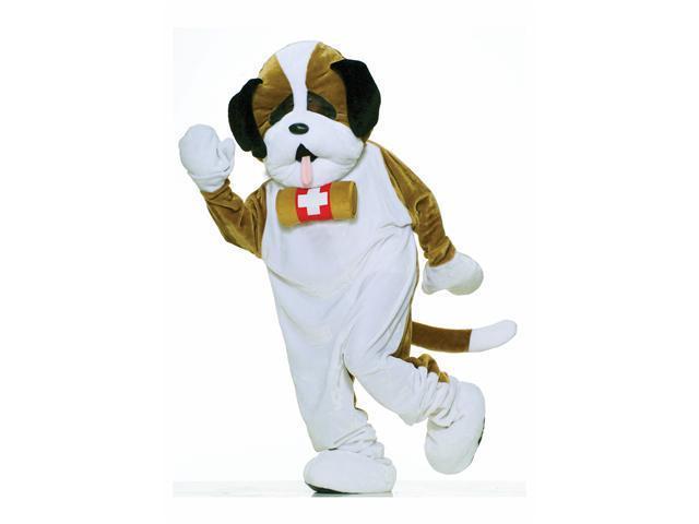St. Bernard Puppy Mascot Adult Costume