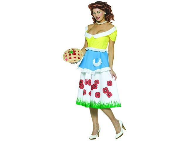 Womens June Cleavage Costume