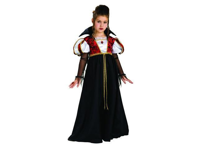 Kids Royal Vampira Costume for Girls