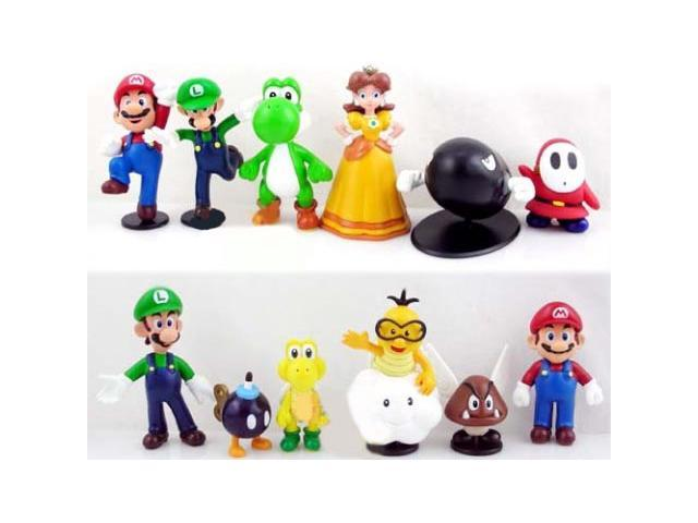 Nintendo Super Mario Bros Mini Figures Set Of 12