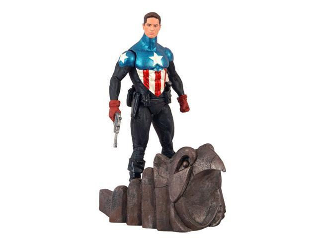Marvel Select Captain America #34 Figure Variant Unmasked Version