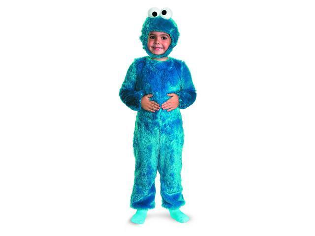 Sesame Street Cookie Monster Comfy Fur Child Costume