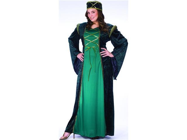Adult Plus Size Lady In Waiting Costume FunWorld 110885