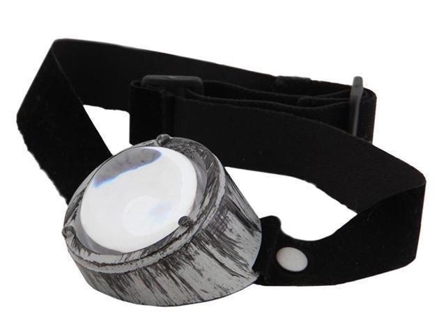 Steampunk Monovision Costume Eyewear - Silver