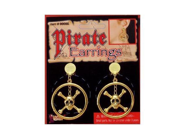 Pirate Costume Earrings