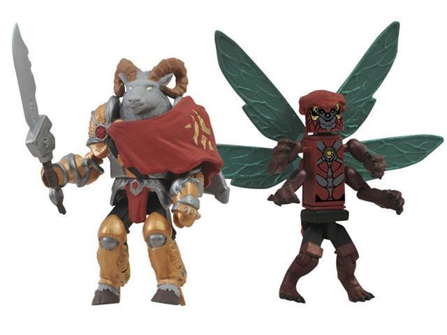 SDCC 2012 Exclusive Battle Beasts Minimate 2 Pack