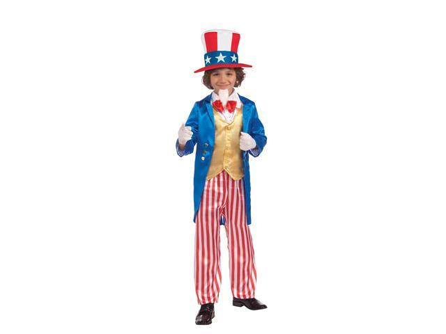 Deluxe Uncle Sam Patriotic Child Costume
