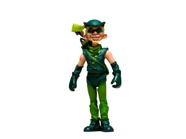 Just-Us League Mad Alfred E Neuman As Green Arrow Action Figure
