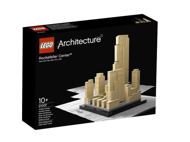Lego Architecture Series Rockefeller Center 21007