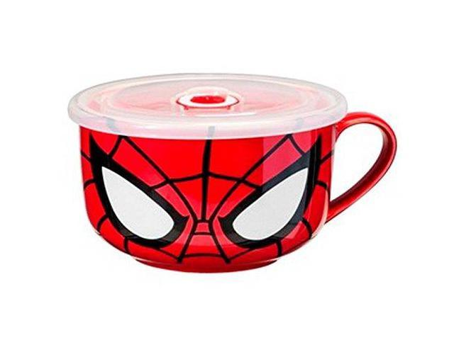 Marvel Character Molded Coffee Mug Spiderman