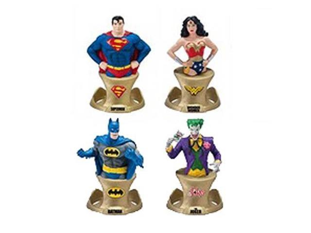 DC Comics Resin Paper Weight 4 Piece SDCC 2014 Set