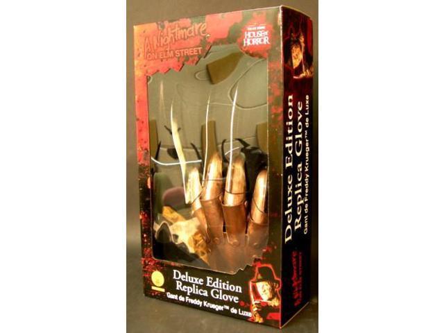 Nightmare On Elm Street Freddy Krueger Deluxe Metal Glove