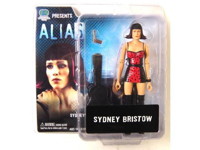 Alias Series 1 Action Figure - Sydney Bristow In Pink Cocktail