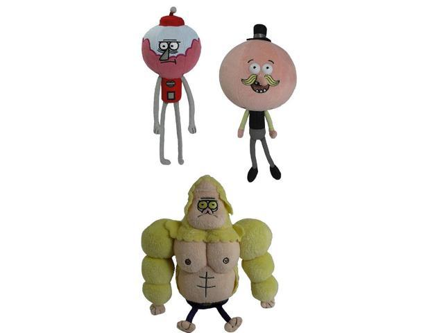 "Regular Show 7"" Fan Favorite Plush Doll Set Of 3"