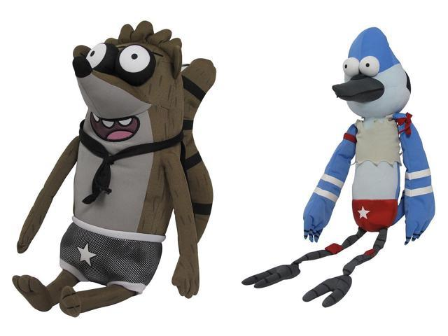 The Regular Show Wrestling Buddies With Sound Assorted Case of 4
