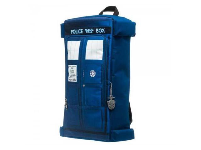 Dr. Who Tardis Zipper Backpack