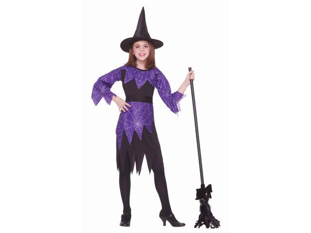 Spider Witch Child Costume Medium