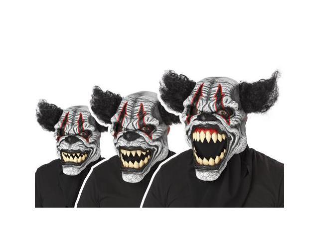 Last Laugh The Clown Ani-Motion Costume Mask