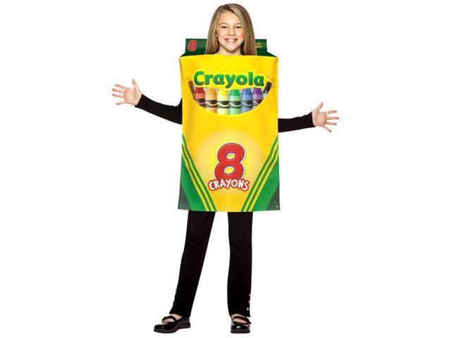 Crayola Crayon Box Child Costume