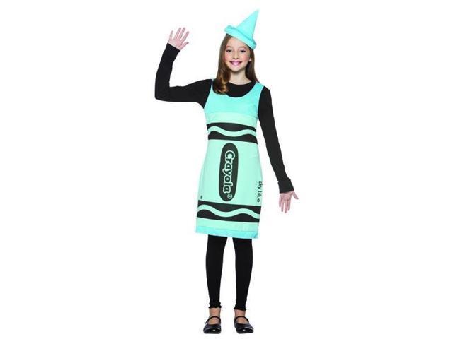 Sky Blue Crayola Crayon Tank Dress Costume Teen