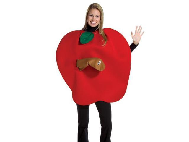 Apple With Worm Adult Costume