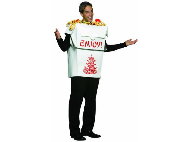 Chinese Take Out Costume Adult