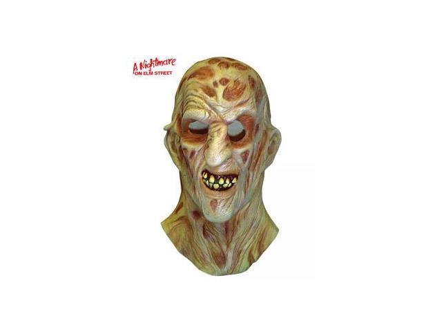 Nightmare On Elm Street Deluxe Freddy Krueger Overhead Latex Mask
