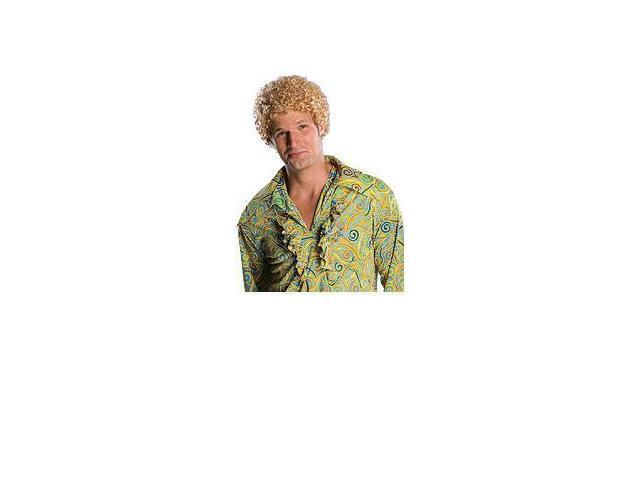 Tight Fro Blonde Costume Wig