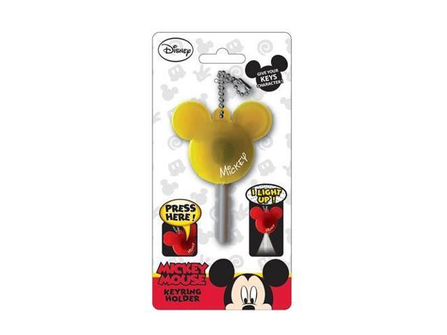 Disney Light Up Key Holder Mickey Mouse Icon Yellow