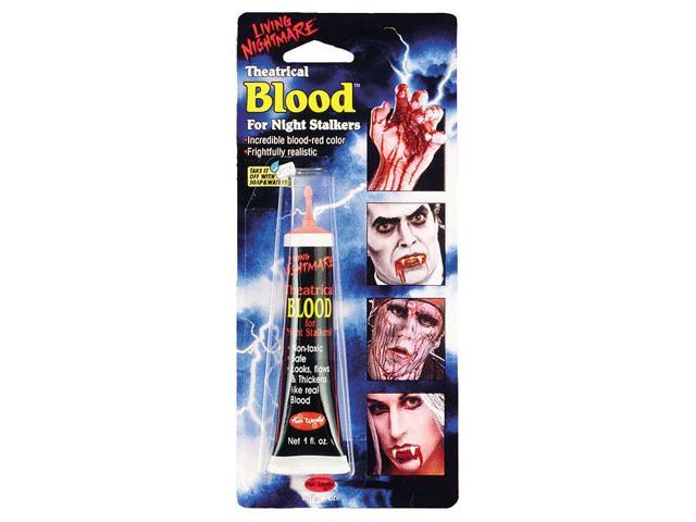Living Nightmare Costume Blood 1 Oz Tube