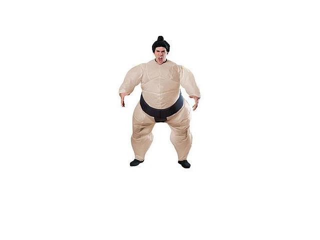 Inflatable Sumo Wrestler Adult One Fits All Costume One Size Fits Most