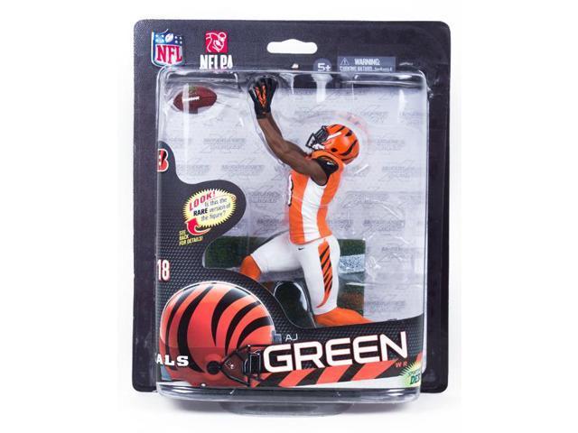 McFarlane NFL 33 Figure Cincinnati Bengals Aj Green Variant Orange Uniform