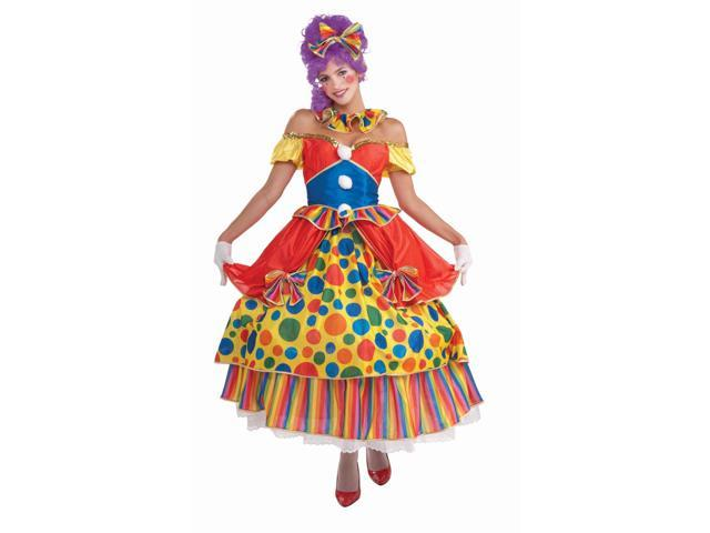 Circus Clown Belle of the Big Top Costume Adult Standard