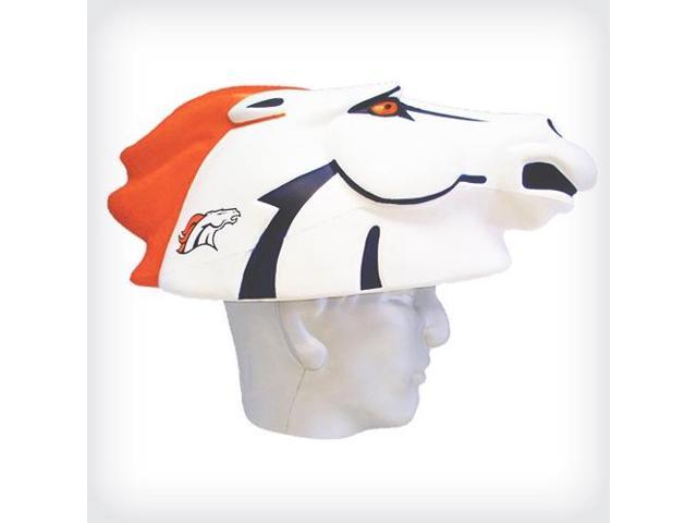 NFL Team Mascot Foamhead Hat: Denver Broncos