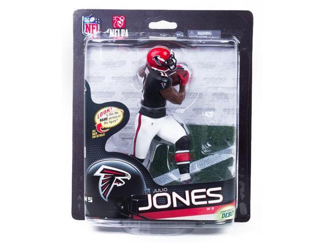 McFarlane NFL 33 Figure Atlanta Falcons Julio Jones Variant Black Jersey