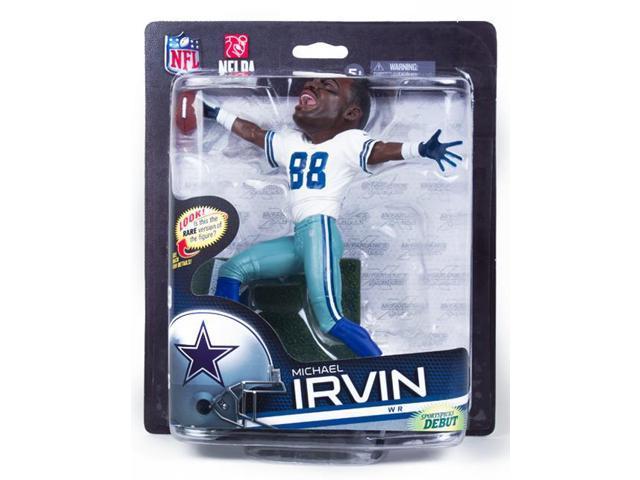 McFarlane NFL 33 Figure Dallas Cowboys Michael Irvin Variant Big Head