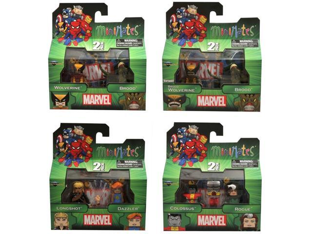 Marvel Minimates Series 47 Set Of 4