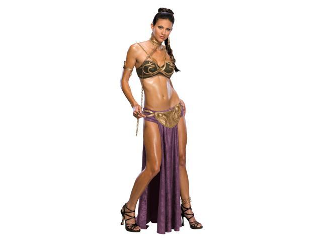 Star Wars Sexy Princess Leia Slave Outfit Adult Costume