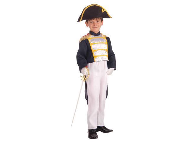 Colonial General Child Costume Medium