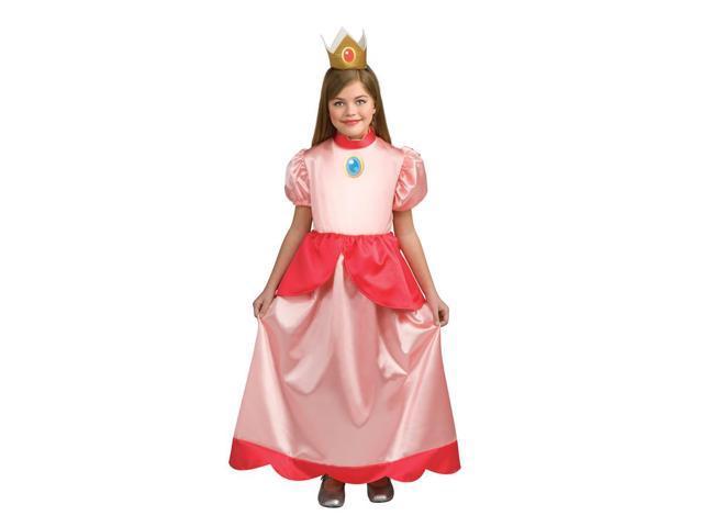 Super Mario Brothers Princess Peach Costume Child Toddler Medium