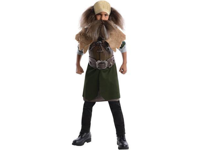 The Hobbit Deluxe Dwalin Costume Child Medium