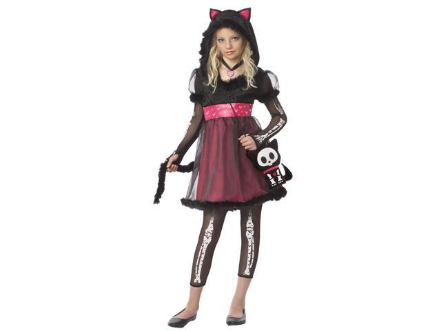 Skelanimals Kit The Cat Costume Dress Child Small